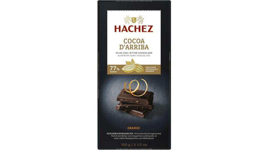 Hachez Cocoa d´Arriba Tafel Orange