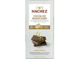 Hachez Cocoa de Maracaibo Tafel Orange Krokant