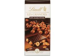 Lindt Les Grandes Feinherb 34 Haselnuesse