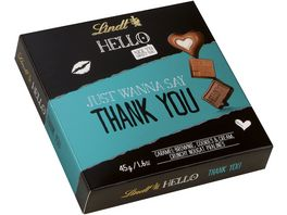Lindt Hello Pralinen Thank you