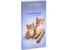 Heilemann Katzenzungen aus Vollmilch Schokolade