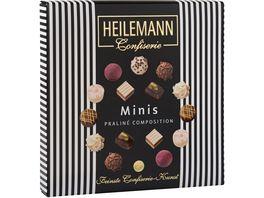 Heilemann Mini Pralines schwarz weiss