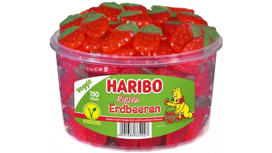 HARIBO Riesen Erdbeeren Runddose
