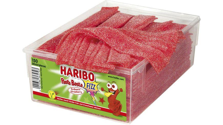 HARIBO Pasta Basta Fizz Erdberre Viereckdose