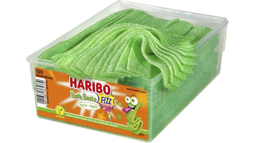 HARIBO Pasta Basta Fizz Apfel Viereckdose