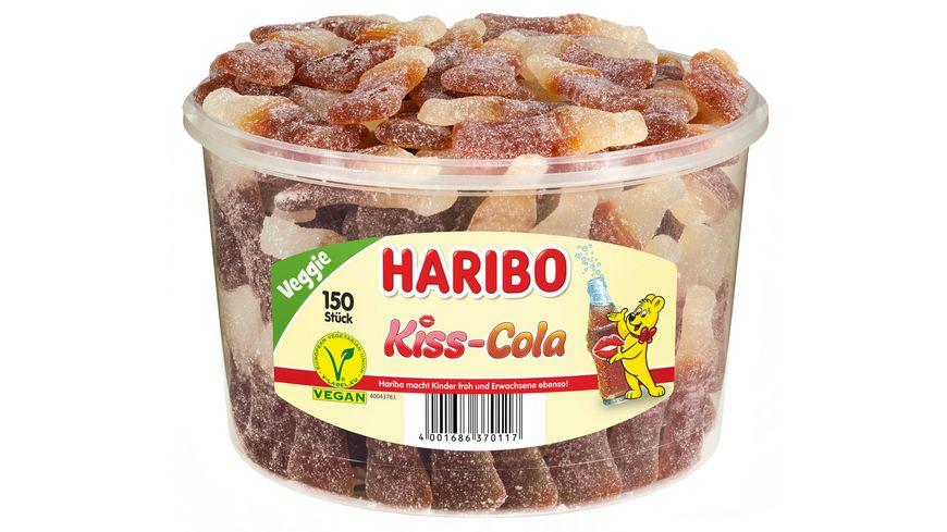HARIBO Kiss-Cola Runddose