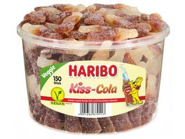 HARIBO Kiss Cola Runddose