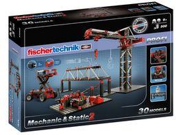 fischertechnik PROFI Mechanic Static 2 Experimentierkasten