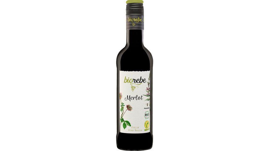 BioRebe Merlot Italien IGP trocken Bio Vegan