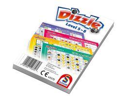 Schmidt Spiele Dizzle Zusatzblock mit Level 5 bis 8 12 Stk
