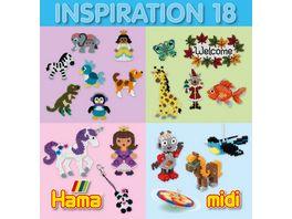 Hama Buegelperlen Inspiration Heft 18