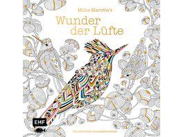 Millie Marotta s Wunder der Luefte Die schoensten Ausmalabenteuer