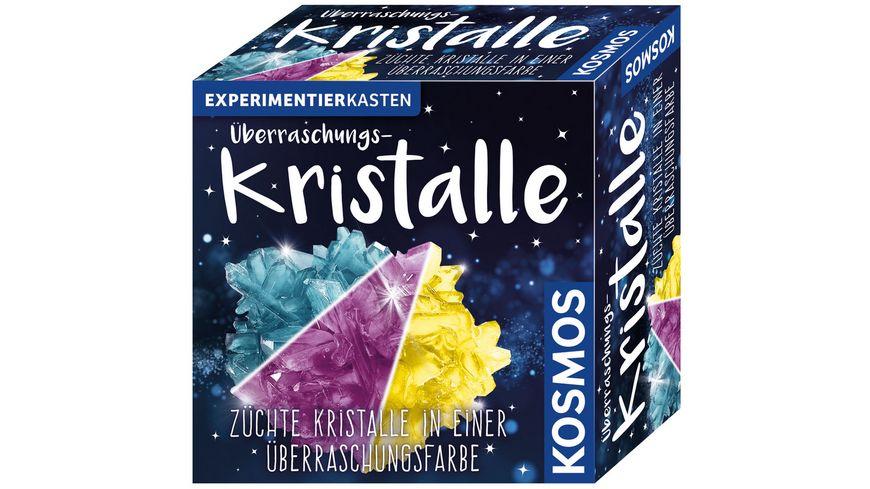 KOSMOS - Experimentierkästen - Überraschungs-Kristalle - Züchte Kristalle in einer Überraschungsfarbe