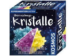 KOSMOS Experimentierkaesten Ueberraschungs Kristalle Zuechte Kristalle in einer Ueberraschungsfarbe