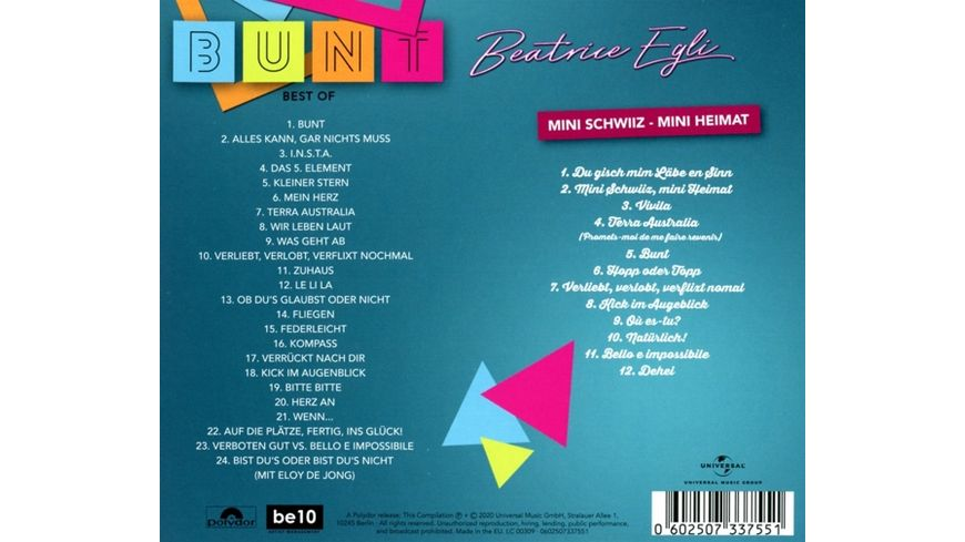 Bunt Best Of Deluxe Version