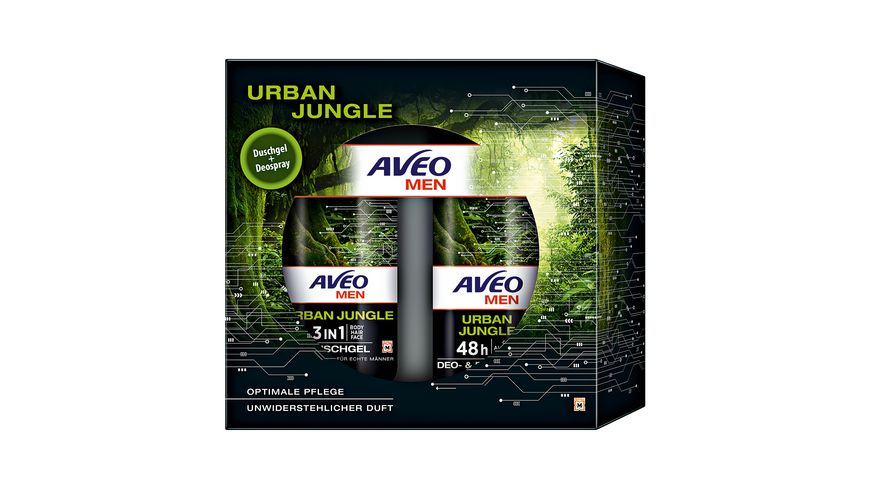 AVEO MEN Geschenkset Urban Jungle