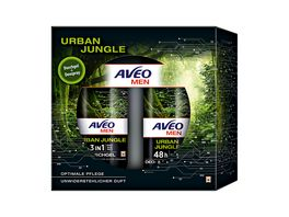AVEO MEN Geschenkset Urban Jungle