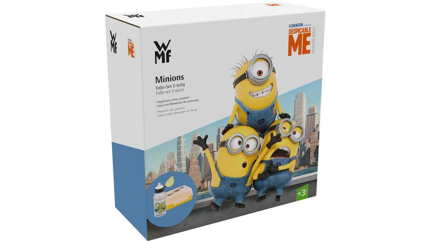 WMF Minions Kinder Set ToGo 2 tlg