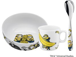 WMF Minions Kindergschirr Set 3 tlg