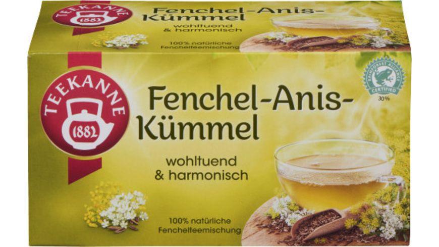 Teekanne Fenchel Anis Kuemmel Tee