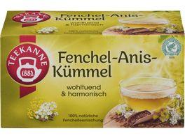 TEEKANNE Fenchel Anis Kuemmel RFA 20er