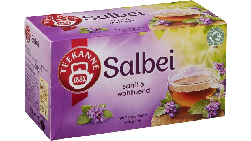Teekanne Salbei Tee