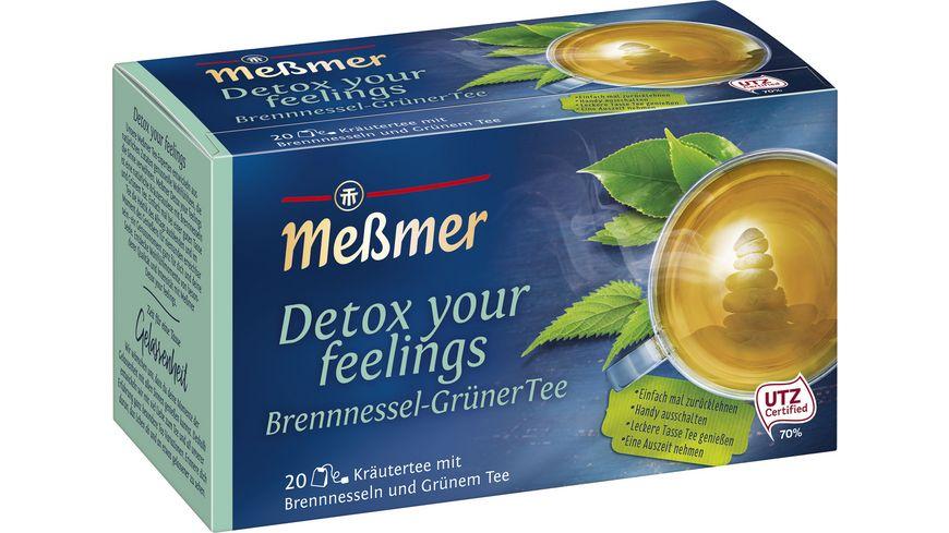 Meßmer Kraeutertee Detox your feelings