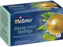 Messmer Kraeutertee Detox your feelings