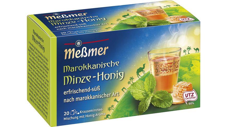 Meßmer Ländertee Marokkanische Minze-Honig