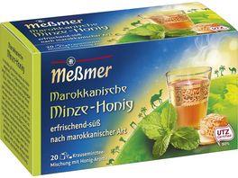 Messmer Laendertee Marokkanische Minze Honig