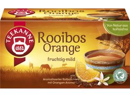 Teekanne Rooibos Orange Tee