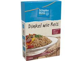 SchapfenMuehle Dinkel wie Reis