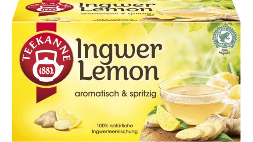 Teekanne Ingwer-Lemon Tee