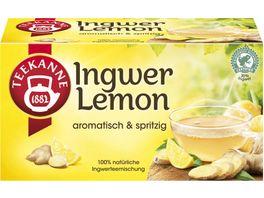 TEEKANNE Ingwer Lemon RFA 20er