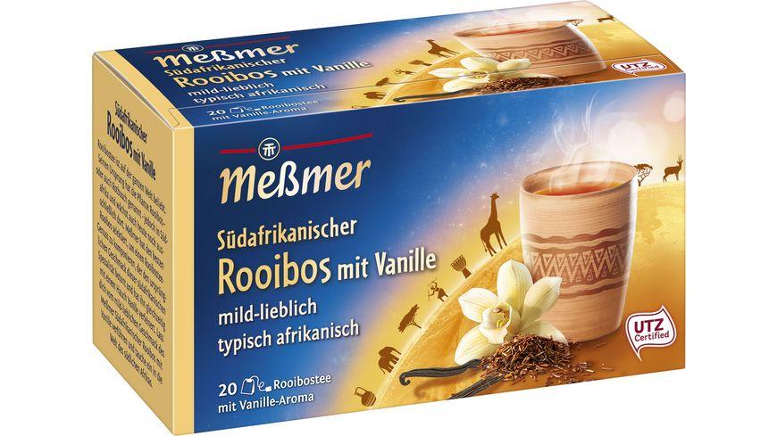 Meßmer Ländertee Südafrikanischer Rooibos mit Vanille