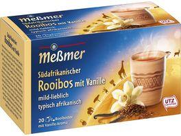 Messmer Laendertee Suedafrikanischer Rooibos mit Vanille