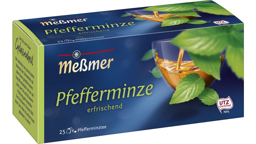 Meßmer Kraeutertee Pfefferminze