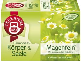 Teekanne Magenfein Kraeutertee
