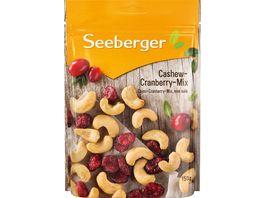 Seeberger Cashew Cranberry Mix