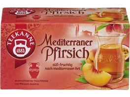 Teekanne Mediterraner Pfirsich Tee