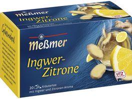 Messmer Kraeutertee Ingwer Zitrone