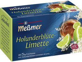 Messmer Fruechtetee Holunder Limette