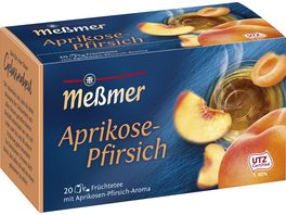Messmer Fruechtetee Milde Aprikose Pfirsich