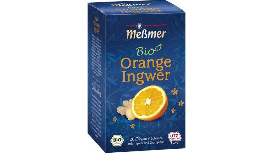 Meßmer Bio-Tee Orange-Ingwer