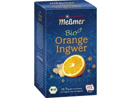Messmer Bio Tee Orange Ingwer
