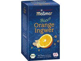 Messmer Bio Tee Orange Ingwer