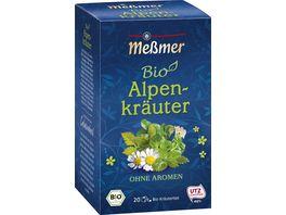 Messmer Bio Tee Alpenkraeuter
