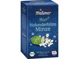 Messmer Bio Tee Holunderbluete Minze
