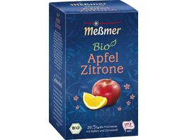 Messmer Bio Tee Apfel Zitrone
