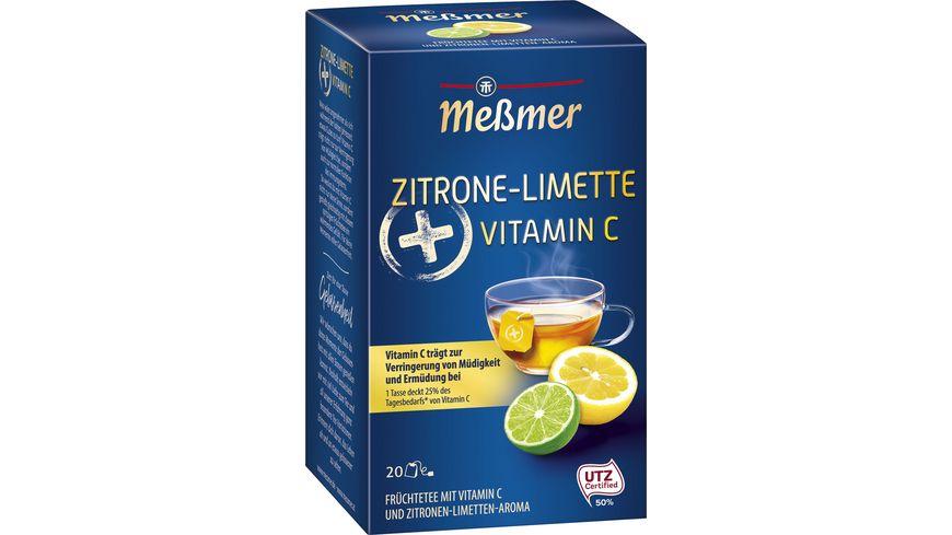 Meßmer Plus-Tee Zitrone-Limette Vitamin C